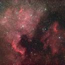 North America and Pelican Nebulae,                                Idahoman