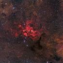 Lobster Nebula- NGC6357,                                Warren A. Keller