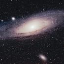 M31 Andromeda Galaxy,                                Robin Bedford