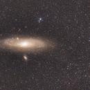 Andromeda galaxy wide angle,                                Bach hamba Youssef