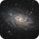 Triangulum Galaxy - M33,                                Wirrkopf