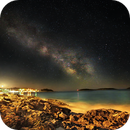 Hvar Island ¦ Milky Way and Third Quarter Moon,                                Kiko Fairbairn
