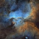 NGC 6188 - The Fighting Dragons of Ara,                                Yovin Yahathugoda