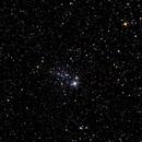 """Рассеянное звездное скопление  NGC 457 """"Сова"""" в созвездии Кассиопея. Расстояние  7920 световых лет от Земли.,                                Astrobel.ru"""