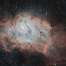 M8 Lagoon Nebula HaRGB,                                Simon Johnson