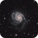 M101, the Pinwheel Galaxy [Drizzled x2],                                Vincent Bchm