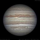 Jupiter | RGB | 2018-05-09 05:06.1 UTC,                                Chappel Astro