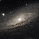 M31 Andromeda Galaxy,                                Andrea Peretto