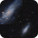 NGC 4559 with Insert,                                Eric Coles (coles44)