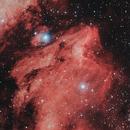 La nébuleuse du Pélican,                                Vincent Caron