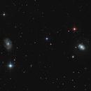 NGC4145, NGC4156, NGC4151 and several more low mag galaxies,                                Uwe Deutermann