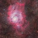 M8 & M20  The Lagoon and Trifid Nebulae,                                昆丁蜀黍