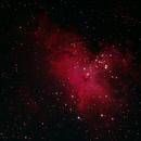 M16 Eagle nebula,                                Barani Roberto