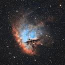 NGC281 Pacman nebula in SHO,                                Fernando Huet