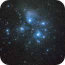 M45 - first pic with my new color cam,                                MicRaWi