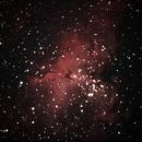 A Brief Look at the Eagle Nebula,                                astrobrad