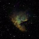 NGC 281 Pacman Nebula in SHO,                                Graham Roberts