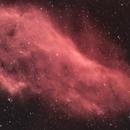 NGC 1499 - Nébuleuse de la Californie HaRVB V2,                                Anto
