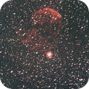 IC 443 Jellyfish Nebula, first attempt........improvement coming soon :-),                                Frank Lothar Unger