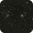 The Double Cluster (RGB),                                Bill Worley