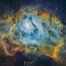 M8 lagoon nebula,                                Jonathan Durand