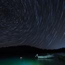 Star trails over Murter,                                Miroslav Horvat