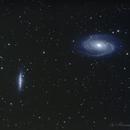 M81 & M82,                                Hermann Mühlichen
