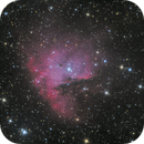 Pacman nebula in Cassiopeia,                                Nurinniska
