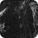 The Eastern Veil and Pickering's Triangle (NGC6992) imaged in Hydrogen-alpha,                                Andrew Klinger