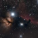 Nébuleuse de La Tête de Cheval (IC434),                                Cyril NOGER