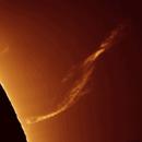Big pillar prominence evolution (GIF animation),                                Łukasz Sujka