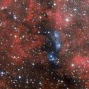 NGC 6914, a blue rift in Cygnus,                                Jari Saukkonen