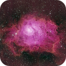 Lagoon Nebula (M8), NGC 6526 and NGC 6530,                                Sasho Panov
