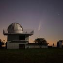 "Observatory ""Uecht"" near Bern, Switzerland, and Comet C/2020 F3 Neowise,                                Martin Mutti"