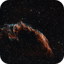 Eastern Veil Nebula NGC6992 HOO,                                Pam Whitfield