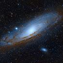M31 - The Andromeda Galaxy,                                StarSurfer Carl