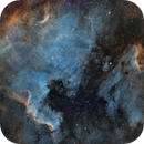 NGC7000 & IC5070 or the North American and Pelican Nebulae HST - 2018,                                Kirk