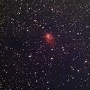 NGC 7538 Gasnebel (gas nebula),                                Eisman
