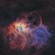 Sh2-132 - Lion Nebula (SHO),                                Jean-Baptiste Auroux
