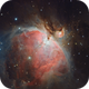 Orion Nebula,                                stricnine