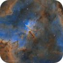 Heart Nebula with Melotte 15 in Narrowband,                                Ray's Astrophotography