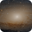 A closeup on Andromeda (M31),                                Datalord