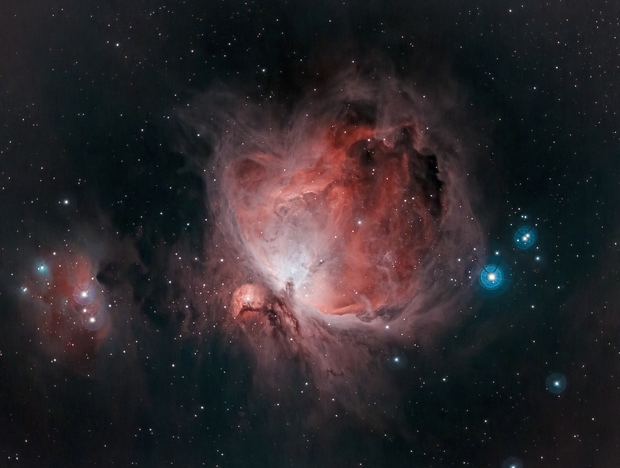 The Orion Nebula M42,                                Victor