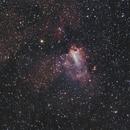 Eagle & Omega Nebulas w/ Roger Clark RawTherapee Workflow,                                BQ_Octantis
