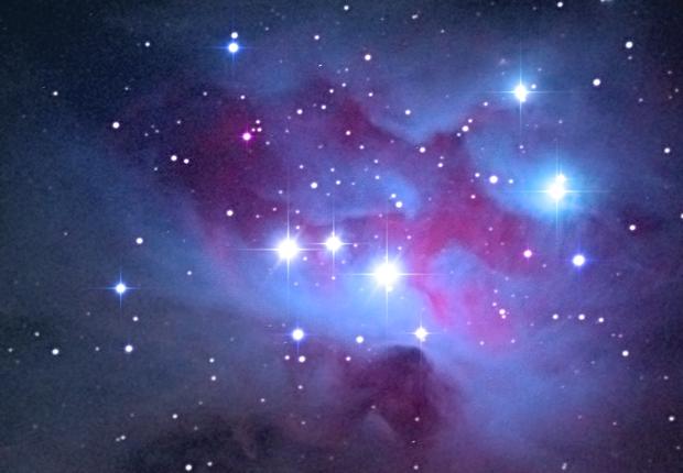 NGC 1977 - The Running Man Nebula,                                StefanoBertacco
