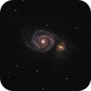 Messier 51, the Whirlpool Galaxy,                                Evelyn Decker