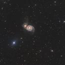 Whirlpool Galaxy M51,                                Michael Völker