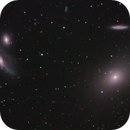M86 and Markarian's chain fragment,                                Serge