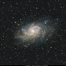 M33 - Triangulum Galaxy,                                Haramir