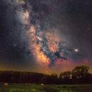 Milky Way in Hungary,                                Makár Dávid